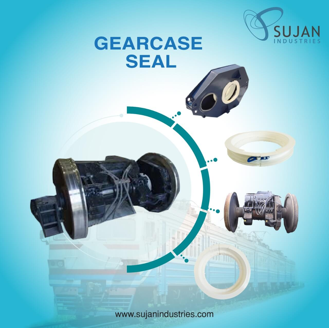 locomotive-gearcase-seal-EMD-gear-case-seal-sujan