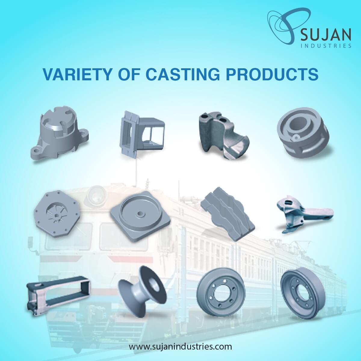 Stainless steel casting foundry Sujan